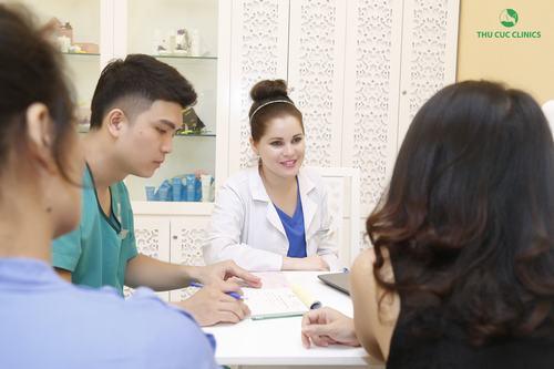 Tư vấn Triệt lông bụng bằng tại Thu Cúc Clinics