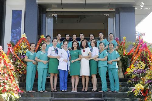 Đội ngũ y bác sỹ tại Thu Cúc Clinics