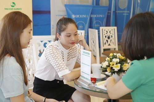 Tư vấn triệt lông tại Thu Cúc Clinics