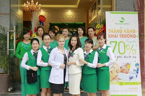 Thu Cúc Clinic Bắc Ninh là địa chỉ triệt lông tốt nhất