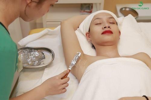 liệu trình triệt lông tại Thu Cúc Clinics
