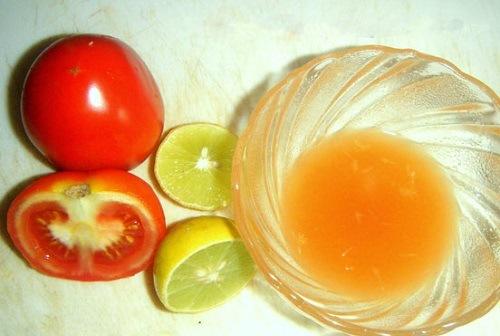 Triệt lông chân bằng mật ong, chanh, cà chua