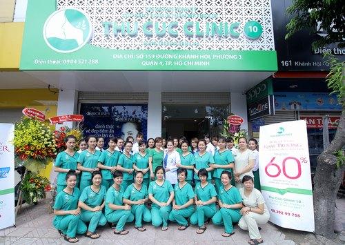 Thu cúc Clinics là địa chỉ triệt lông uy tín tại HCM