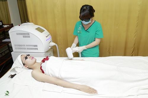 Triệt lông ở thu cúc clinics
