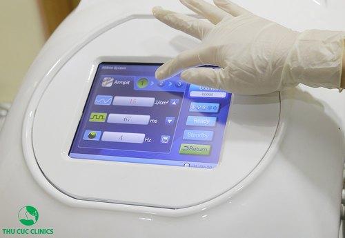 triệt lông công nghệ laser diode