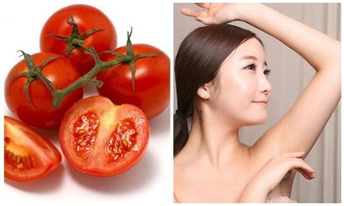 Tẩy lông bằng cà chua có mọc lại không?