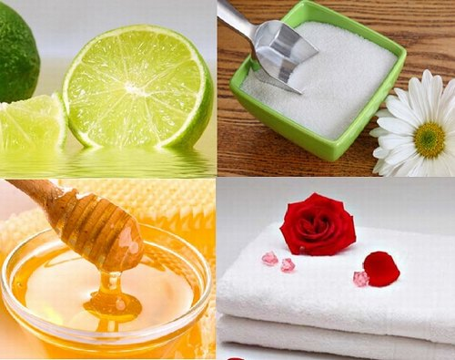 tẩy lông bằng mật ong và chanh