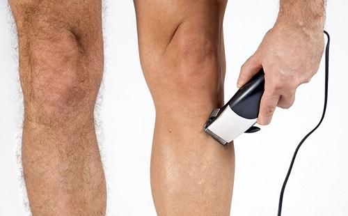 Triệt lông chân cho nam giới