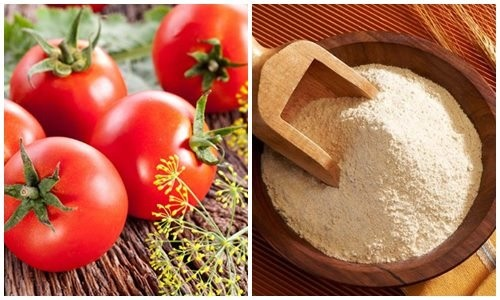 Không chỉ là nguyên liệu bổ dưỡng, bột mì còn có tác dụng triệt lông hiệu quả khi kết hợp với cà chua.