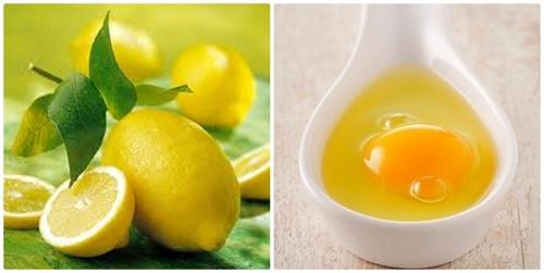 Mặt nạ chanh và trứng gà làm suy yếu chân lông, cải thiện sắc tố da, giúp làn da mịn màng và tươi sáng hơn.