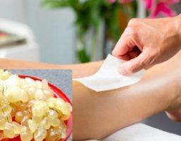 Cách làm mềm lông chân