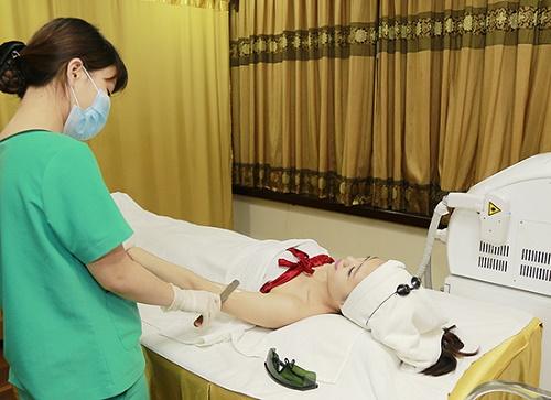 Thu Cúc Clinics đang ứng dụng rất thành công phương pháp triệt lông bằng công nghệ Laser Diode