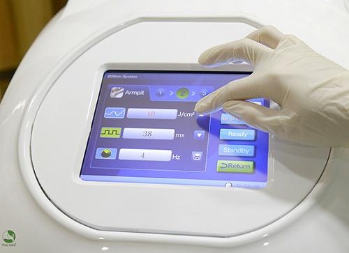 Công nghệ triệt lông bằng Laser Diode đem lại hiệu quả tối ưu.