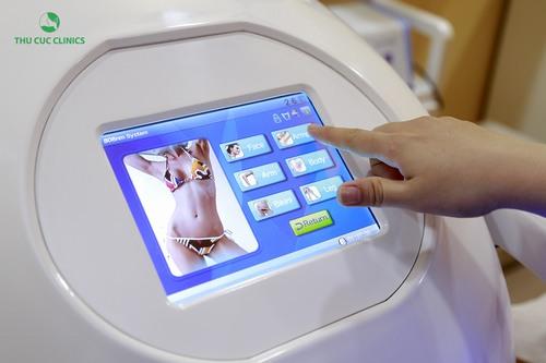 Công nghệ Laser Diode sử dụng trong triệt lông tại Thu Cúc Clinics