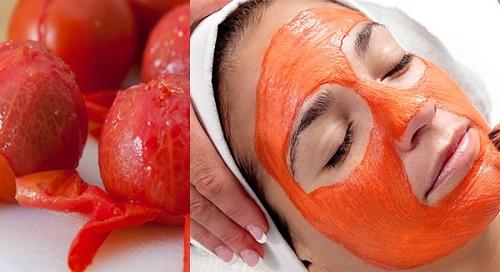 Mặt nạ cà chua giúp tẩy lông mặt an toàn và đem lại hiệu quả nhanh chóng.