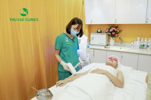 Công nghệ Laser Diodetại Thu Cúc Clinics đem lại hiệu quả tối ưu.