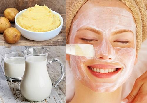 Mặt nạ giúp da trắng sáng, ngăn ngừa các dấu hiệu lão hóa mà còn thu nhỏ lỗ chân lông.