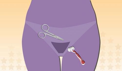 Cạo lông vùng kín là phương pháp triệt lông vùng kín đơn giản được không ít chị em lựa chọn tại nhà.