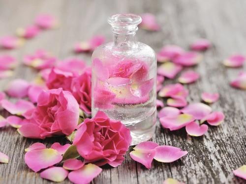Tẩy lông bằng phèn chua và nước hoa hồng