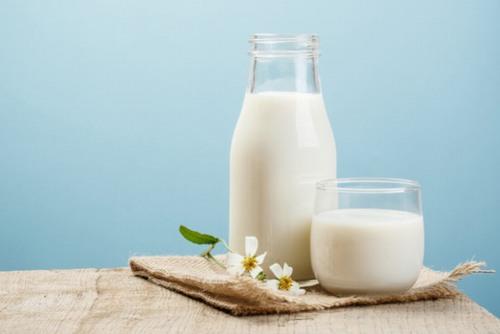 Sữa tươi tăng cường sự đàn hồi của da, giúp làn da trở nên săn chắc, thu hẹp lỗ chân lông để da mịn màng, tràn đầy sức sống.
