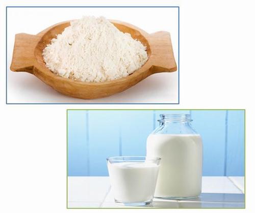 Sữa tươi chứa nhiều dưỡng chất rất tốt cho làn da. Khi bạn bị dày sừng nang lông hoàn toàn có thể kết hợp sữa tươi với cám gạo để tạo thành hỗn hợp chữa viêm nang lông.