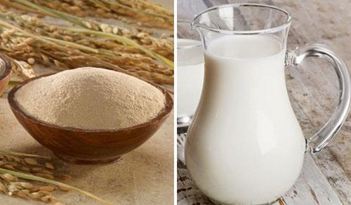 Cách làm mềm lông sau khi cạo bằng cám gạo là phương pháp phổ biến được nhiều người áp dụng.