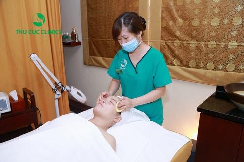 Công nghệ IPL sử dụng ánh sáng sinh học tác động trực tiếp vào vùng da và loại bỏ chúng ra ngoài.