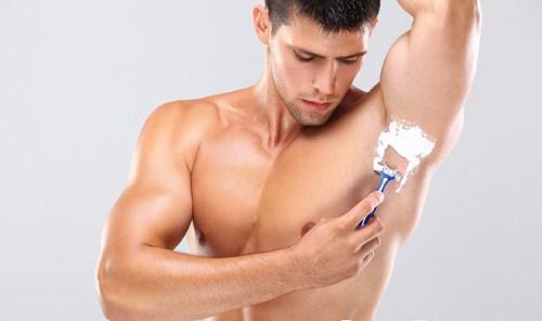 Nguyên nhân khiến nam giới có nhu cầu triệt lông nách 3