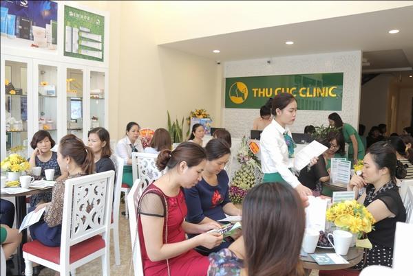 Chữa viêm nang lông ở Thu Cúc Clinics 4