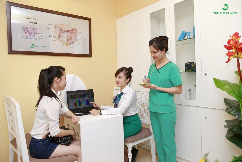 Các chị em nên lưu ý lựa chọn địa chỉ uy tín, có thương hiệu lâu dài đã được Bộ Y tế cấp phép