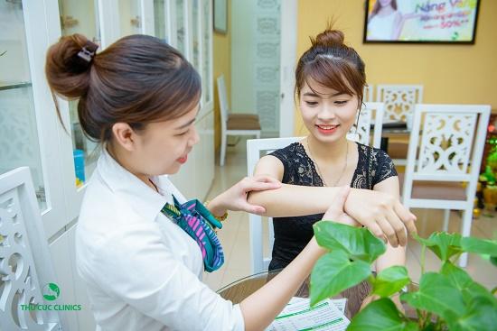 Địa chỉ trị viêm nang lông tại Hà Nội 3