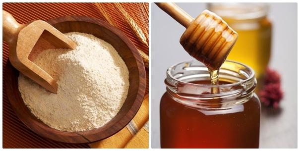 Kết hợp hai nguyên liệu tự nhiên này với nhau sẽ có công dụng dưỡng trắng da hiệu quả.