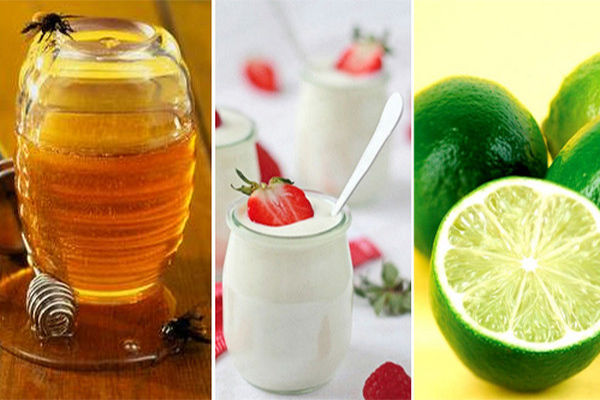 Giải pháp tắm trắng từ mật ong, chanh và sữa chua cũng được rất đông chị em yêu thích áp dụng.